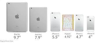 ipad size comparison ipad sizes chart dolap magnetband co