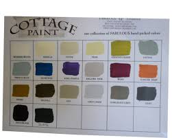 cottage paint colorsCottage Paint Standard tint colors for Fabulous Finishes