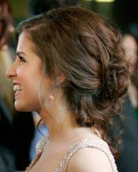 Jessica Alba Updo Hairstyles Low Bun Prom Hairstyle Popular Long Hairstyle Idea