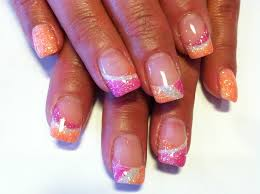 gel nail designs for fall 2014. glitter gel nails nail designs for fall 2014