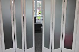 woodland slimline internal folding sliding door systems in oak or white