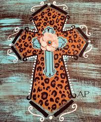 saint frida leopard cross
