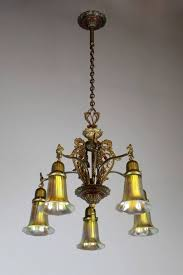 183 best antique lightings images on appliques within fused glass chandelier gallery