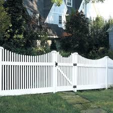 vinyl lattice fence panels. Shop Barrette Elite Keswick Scallop 4 Ft X 8 White Scalloped Picket Vinyl Select Lattice Fence Panels K