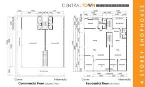 Central Town Four Storey Shophouse   Kwang TaiFloor Plan