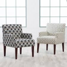 Patterned Chairs Living Room Yellow Living Room Chairs Zampco