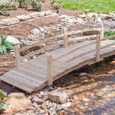 Wood Garden Bridge | Hayneedle