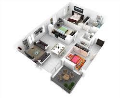 interior design blueprints. Bedroom D Floor Plans Charming Apartment Interior Design Blueprints 3d N