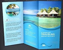 35 Beautiful Travel Brochure Template Designs Designssave Com
