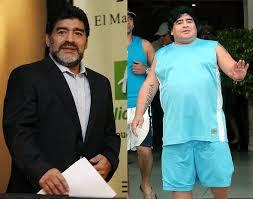 Früher schlank heute fett