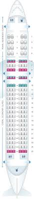 United Airlines Airbus A320 Seating Chart Seat Map Etihad Airways Airbus A320 200 Seatmaestro