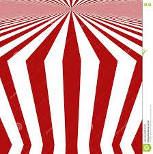 Rood Wit Gestreept Ontwerp Stock Illustratie Illustratie Bestaande