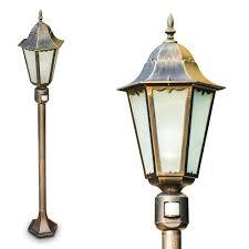 Lamp Post Lights Amazon Outdoor Post Light Hongkong Frost With Motion Sensor Lamp