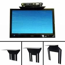 flat screen tv shelf for cable box