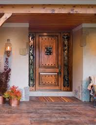 Vintage Front Door with Sidelights