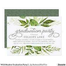 10th birthday invitation wording best of wild meadow graduation party invitation