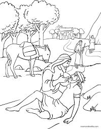 Download Good Samaritan Coloring Page Free Coloring