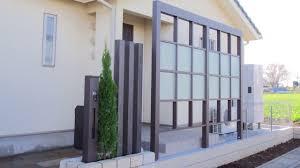 埼玉県の和風和モダンデザイン9件外構と庭ガーデンの施工例です