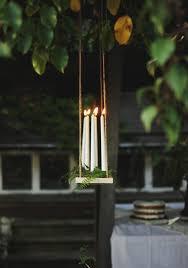 diy outdoor candle chandelier tutorial 1001 gardens regarding incredible home garden candle chandelier decor