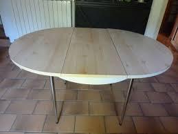 Table Ovale Cuisine Good Table De Cuisine Ronde Ovale Occasion