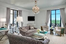 New York Living Room St Regis New York Tiffany Suite Haute Living