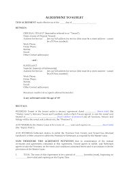 Sublease Contract Template New Zealand Subletting Agreement For Residential Premises By Megadox 6