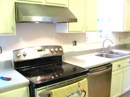 textured wallpaper backsplash kitchen for with white painted wall cabinet  electric stove quartz and sink wallpapers