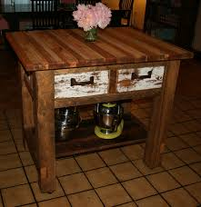 Rustic Kitchen Island Cart Kitchen Island 39 Distressed Black Modern Rustic Kitchen Island