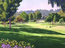 pala mesa golf course by mary helmreich watercolor landscape california landscape paintings watercolor watercolor landscape