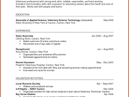 Veterinary Resume Samples Download Veterinary Technician Resume Sample Biological Scientists 38
