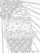 Small Picture Best 25 Ice cream coloring pages ideas on Pinterest Icecream