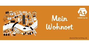 Deutsch Lernen A1 Thema Wohnort Und Stadt Wortschatz Stadt