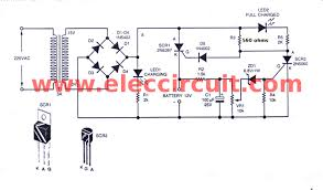 automatic battery charger circuit simple car battery charger circuit diagram at Car Battery Charger Schematic Circuit Diagram