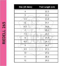Riedell Figure Skate Size Chart Riedell Wicked Skates Last Pairs