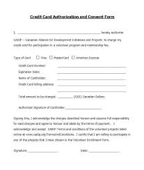 Credit Card Release Form 41 Credit Card Authorization Forms Templates Ready To Use
