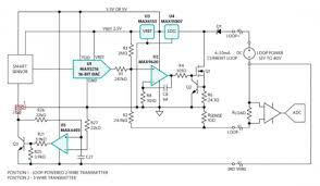 high accuracy 4 20 ma current loop transmitter eeweb community block diagram for a universal 2 or 3 wire smart sensor transmitter