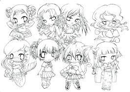 Cute Anime Coloring Pages Anime Coloring Books Coloring Anime Pages