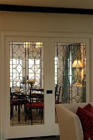 interior sliding glass french doors. Leaded Glass Pocket Doors In Between Kitchen And Family Room Interior Sliding French T