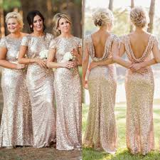 Light Blue Sparkly Bridesmaid Dresses Sequin Shiny Open Back Bridesmaid Dresses Long Bridesmaids