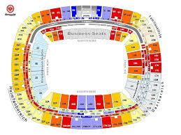 Sap Arena Mannheim Seating Chart Seating Plan