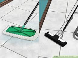4 ways to clean grout off tile wikihow within getting remodel 15