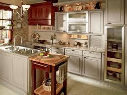 White Kitchen Cabinets With Light Colored Granite Countertops