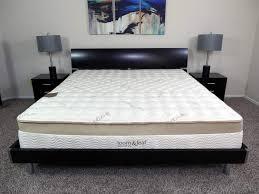 Serta Chrome Firm Queen Size Mattres King Bed Frame And Mattress Set ...