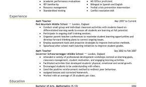 Elementary Teacher Resume Skills Eliolera Com