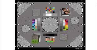 Reflective Image Resolution Chart Ye042 Digital Camera