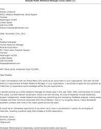 Pr Cover Letter   Resume CV Cover Letter