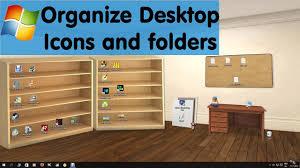 Windows 10 Desktop Organizer Wallpaper