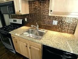 tin kitchen backsplash wallpaper kitchen kitchen faux mosaic
