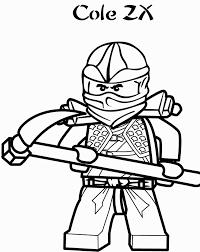 ninjago coloring pages cole zx - Funchap