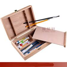 get ations oil painting box solid wood material artist painting tool art supplies art set school students supplies
